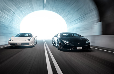 Speedtest - Ferrari VS Lamborghini