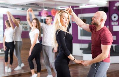 Danslektion för två