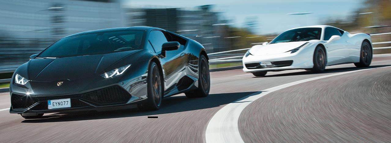 Snygg Lamborghini