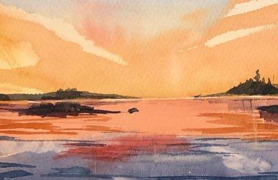 Akvarellmålning för nybörjare