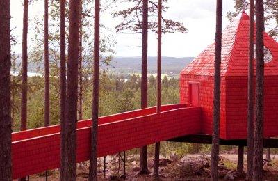 The Blue Cone - Treehotel för Två