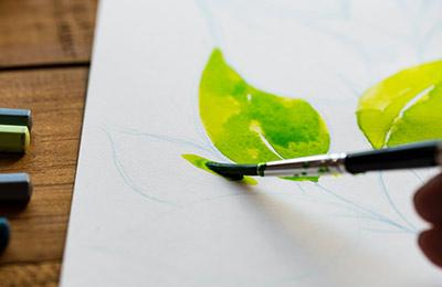 Akvarellmålning för nybörjare (kurs online)