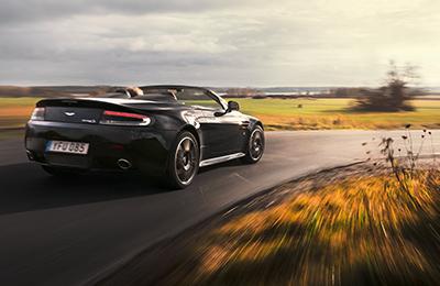 Kör en Aston Martin