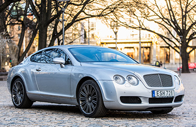 Provkör en Bentley