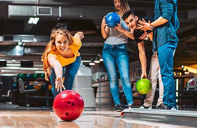 Spela bowling i Stockholm
