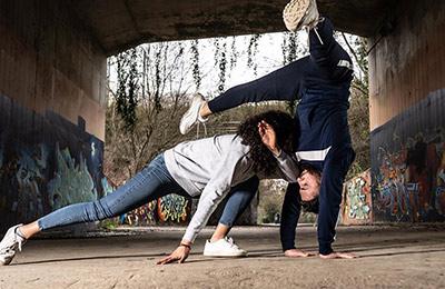 Fysträning med capoeira