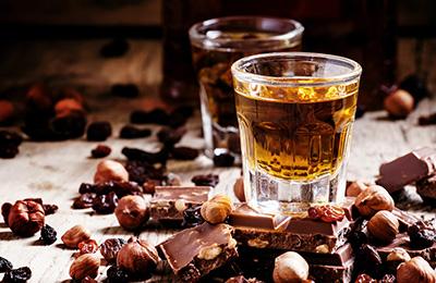 Choklad- och romprovning