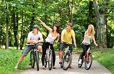 Guidad cykeltur på Djurgården
