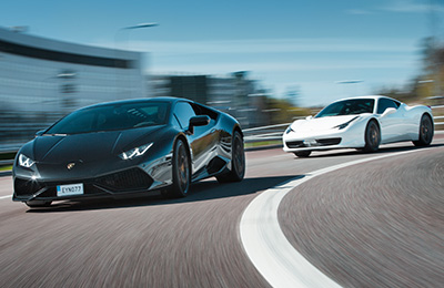 Kör Ferrari/Lamborghini