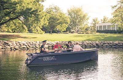 Hyr en Go Boat i Malmö