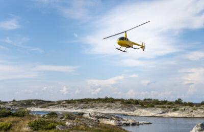Privat helikoptertur - 20 min flygtid