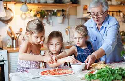 Italiensk matlagning för hela familjen