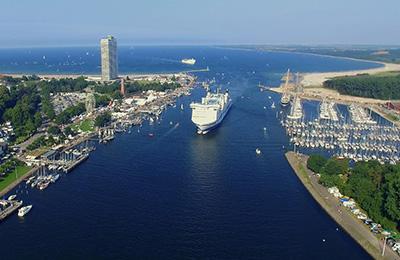 Lübeck för två med båtresa och hotell