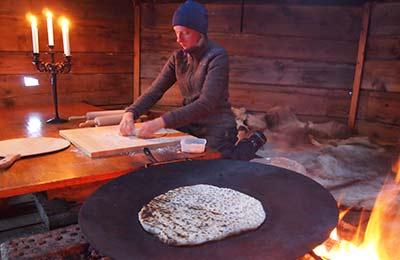 Traditionell samisk matlagning