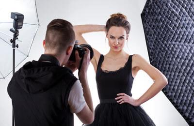 Modell för en Dag - Glamour