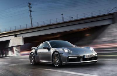 Provkör Porsche 911 992 Turbo S