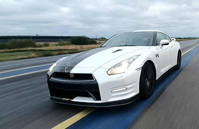 Speedtest med Nissan GT-R