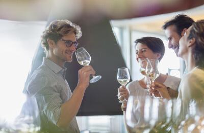 Vinprovning i Riedelglas