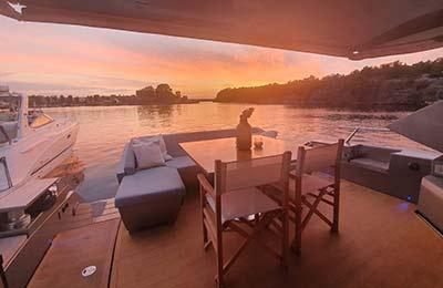 Skärgårdsweekend på yacht