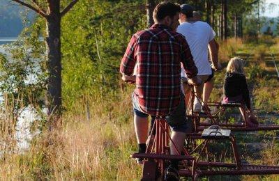 Cykla Dressin i Naturen