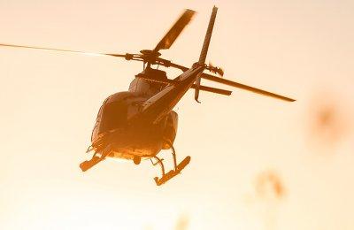 Helikoptertur i Skärgården
