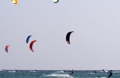 Prova på Kitesurfing