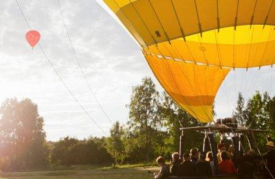 Luftballong Göteborg Pris