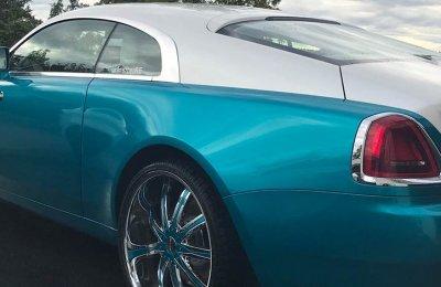 Kör en Rolls Royce