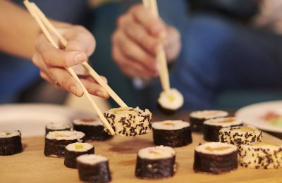 Sushi-kock hemma (8 personer)