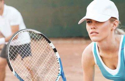 Spela tennis, badminton, squash