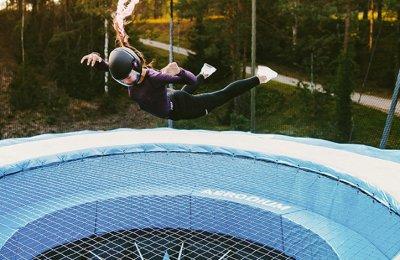Flyg i en vindtunnel utomhus (4 x 60 sekunder)