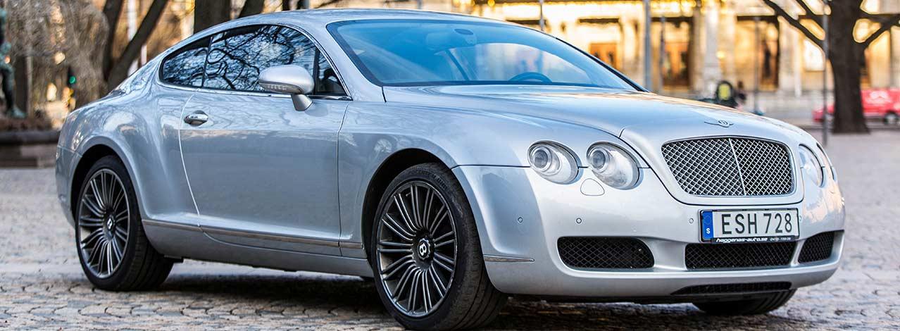 Produktbild för Provkör en Bentley (1/1)