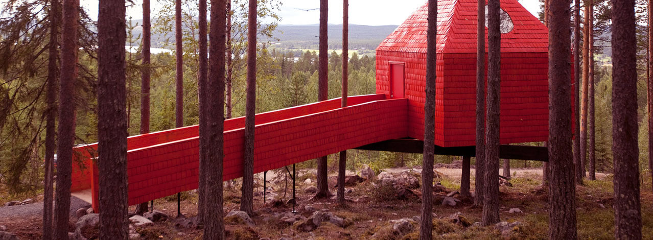Produktbild för The Blue Cone - Treehotel för Två (1/1)