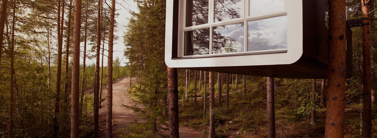 Produktbild för The Cabin - Treehotel för Två (1/1)