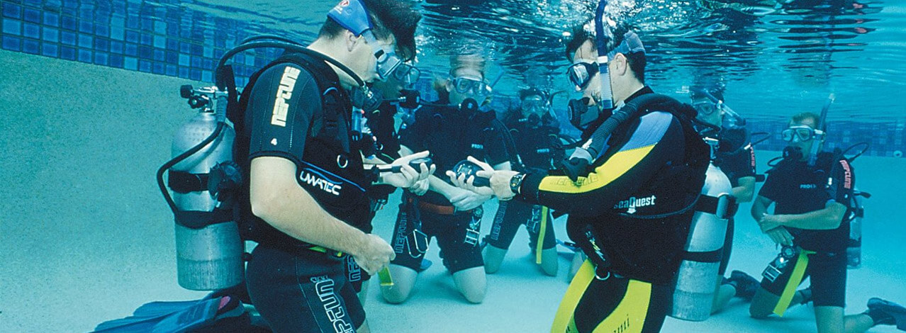 Prova på dykning