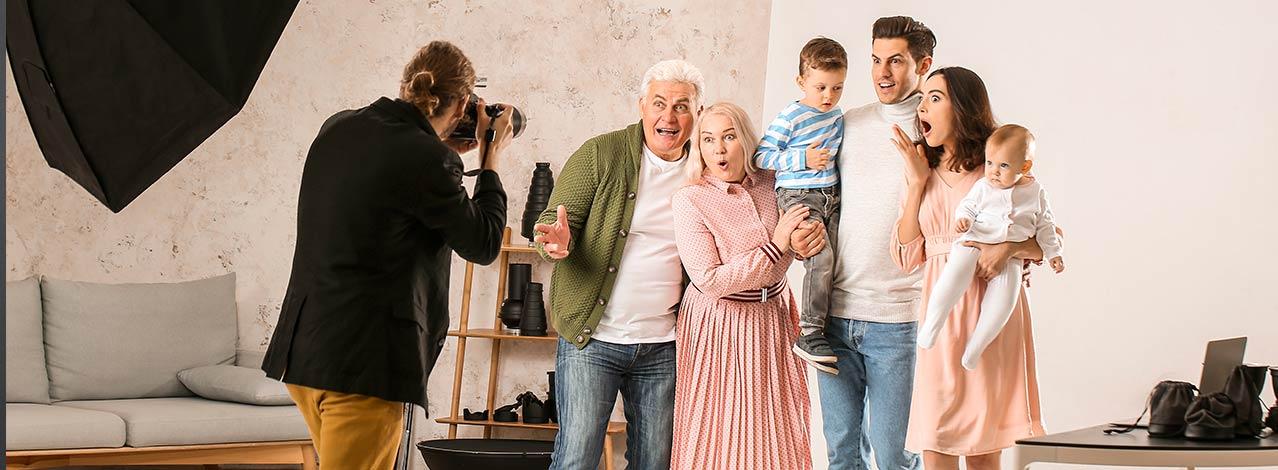 Produktbild för Familjefotografering (1/1)