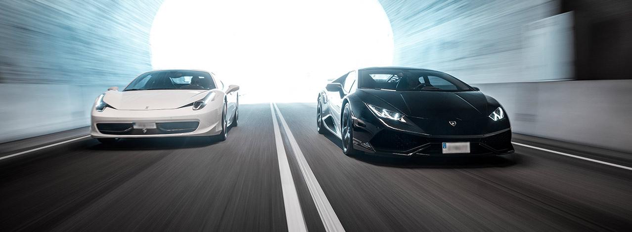 Produktbild för Ferrari vs Lamborghini – Speedtest (1/1)