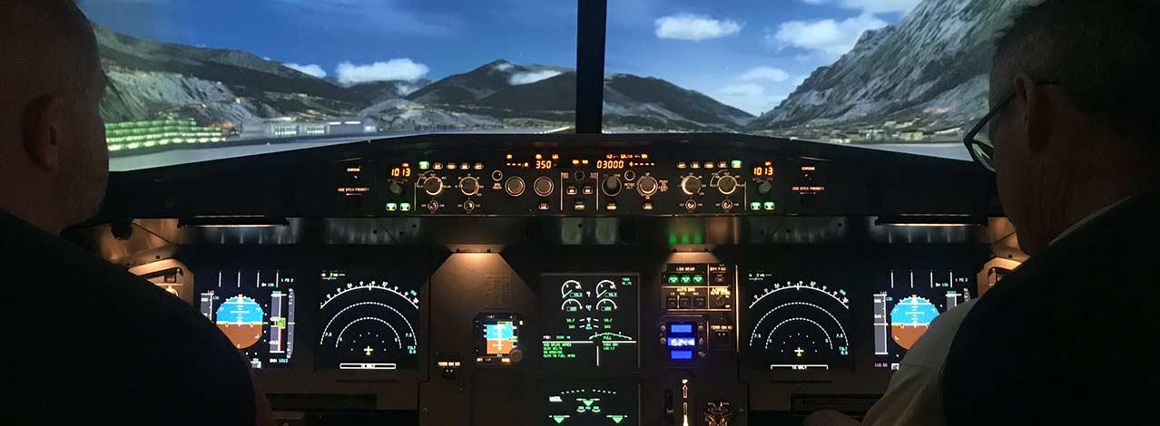 Produktbild för Flyg i flygsimulator Airbus A320 (1/1)