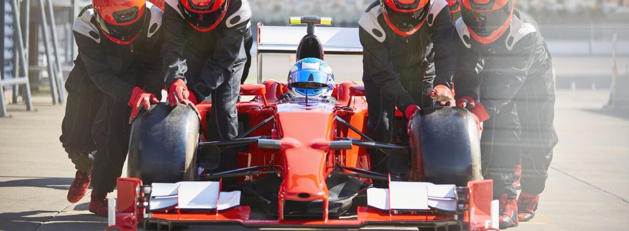 Kör en F1-bil