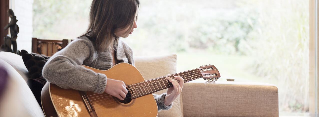 Produktbild för Privat Gitarrlektion (1/1)