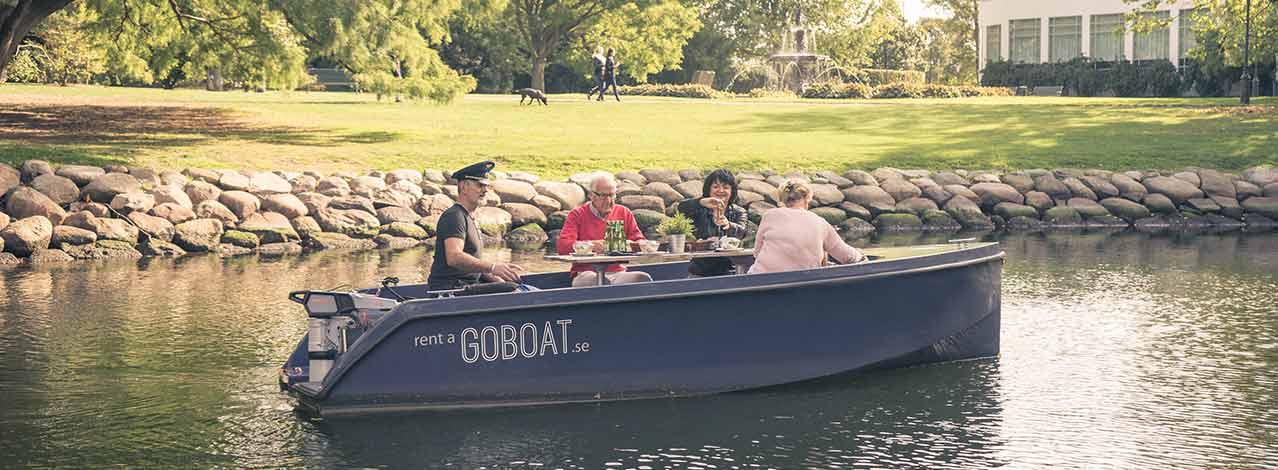 Produktbild för Hyr en Go Boat i Malmö (1/1)