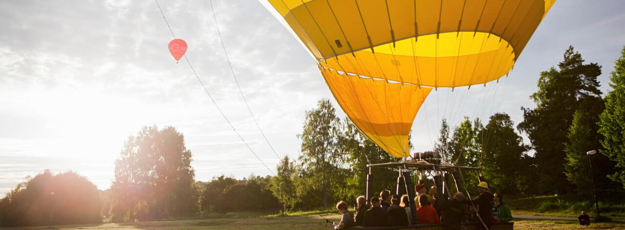 Produktbild för Luftballong de Luxe (1/1)