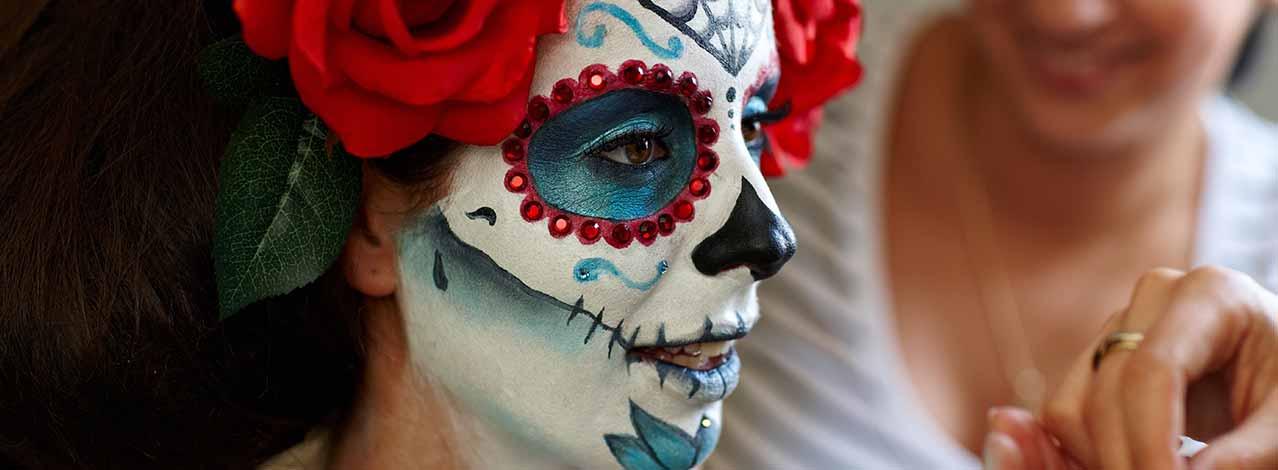 Produktbild för Halloween-makeup (1/1)