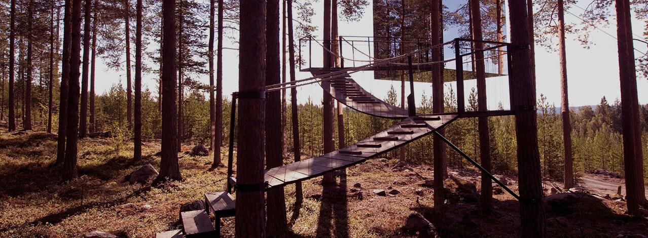 Produktbild för The Mirrorcube - Treehotel för Två (1/1)