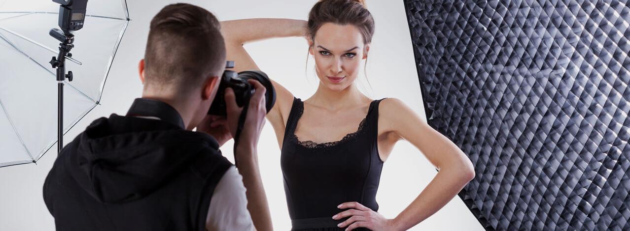 Produktbild för Modell för en Dag - Glamour (1/1)