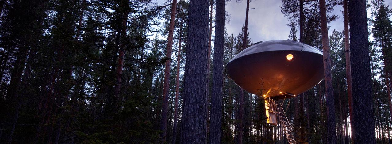 Produktbild för The UFO - Treehotel för Två (1/1)