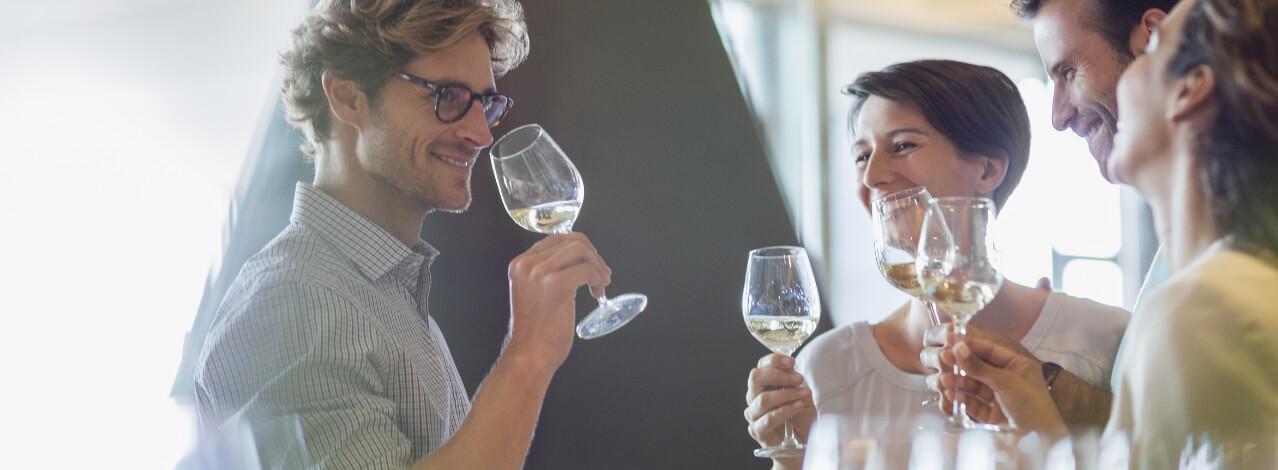 Produktbild för Vinprovning i Riedelglas (1/1)