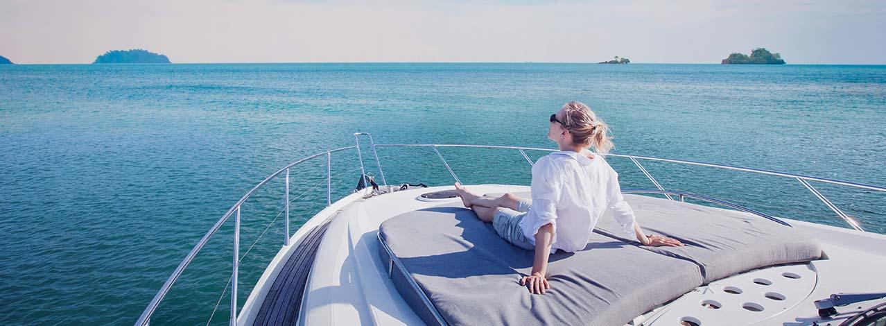 Produktbild för Provkör en yacht (1/1)